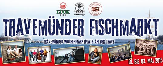 1. Travemünder Fischmarkt auf dem Wochenmarktplatz